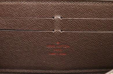 【財布】LOUISVUITTONルイヴィトンダミエジッピーウォレットラウンドファスナー長財布N60015【中古】【s】