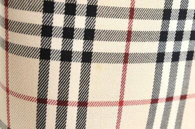 【バッグ】BURBERRYバーバリーノバチェックトートバッグショルダーバッグショルダートートナイロンキャンバスレザーベージュ赤レッド茶ブラウンブラック【中古】【s】