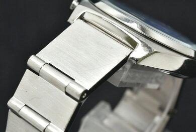 【ウォッチ】PaulSmithポールスミスポールスミスファイナルアイズクロノグラフデイトブルーSSメンズQZクォーツ腕時計0510-S077541【中古】【k】
