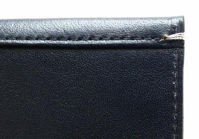 【新品未使用品】【財布】TAKEOKIKUCHIタケオキクチ2つ折財布長財布レザーダークネイビー濃紺メンズ【s】