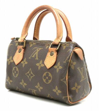 【バッグ】LOUISVUITTONルイヴィトンモノグラムミニスピーディハンドバッグポーチM41534【中古】【s】