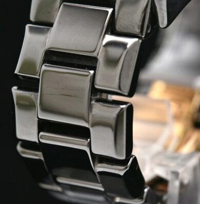 【ウォッチ】EMPORIOARMANIエンポリオアルマーニセラミカセラミッククロノグラフメンズQZクォーツ腕時計AR-1410AR1410【中古】【k】
