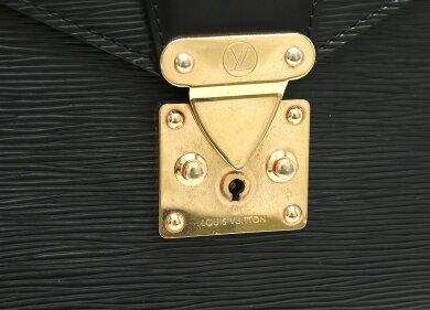 【バッグ】LOUISVUITTONルイヴィトンエピセルヴィエットコンセイエ書類カバンビジネスバッグブリーフケースレザーノワール黒ブラックM54422【中古】【s】