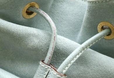 【バッグ】GUCCIグッチバンブーリュックサックバックパックショルダーレザースエードライトブルー水色アウトレット品003.2058.0016【中古】【s】