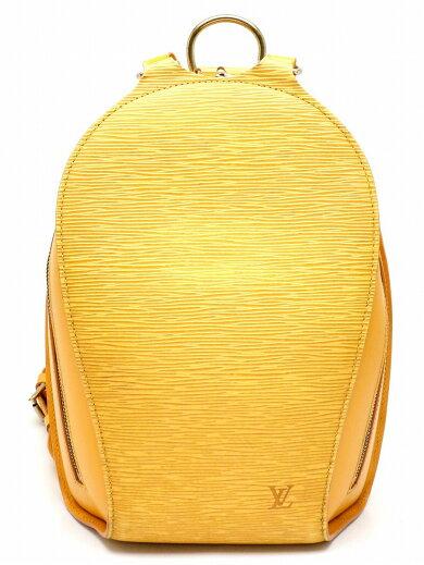 【バッグ】LOUISVUITTONルイヴィトンエピマビヨンリュックリュックサックショルダーバッグバックパックレザータッシリイエロー黄色M52239【中古】【s】