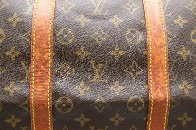 【バッグ】LOUISVUITTONルイヴィトンモノグラムキーポル55ボストンバッグハンドバッグ旅行カバントラベルバッグトラベルボストンM41424【中古】【s】