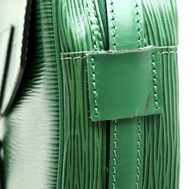 【バッグ】LOUISVUITTONルイヴィトンエピジュヌフィーユショルダーバッグ斜め掛けショルダーポシェットレザー緑ボルネオグリーンM52154【中古】【s】