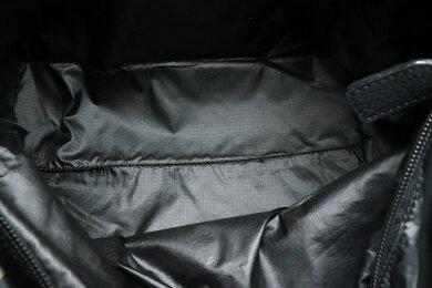 【バッグ】FENDIフェンディセレリアエコバッグハンドバッグナイロンレザーブラック黒カーキベージュ8BH176【中古】【s】