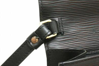 【バッグ】LOUISVUITTONルイヴィトンエピセリエドラゴンヌセカンドバッグハンドバッグレザーノワール黒ブラックゴールド金具M52612【中古】