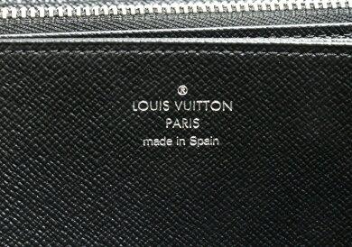 【財布】LOUISVUITTONルイヴィトンエピジッピーウォレットラウンドファスナー長財布レザーノワール黒ブラック新型M61857【中古】【s】