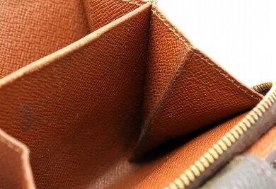 【財布】LOUISVUITTONルイヴィトンモノグラムコンパクトジップコの字型2つ折ファスナー財布M61667【中古】