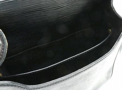 【バッグ】LOUISVUITTONルイヴィトンエピカルトシエールショルダーバッグ斜めがけショルダーレザーノワール黒ブラックM52242【中古】