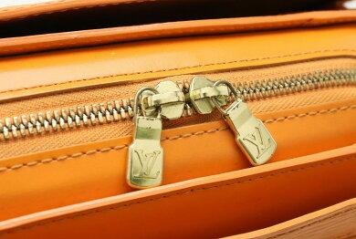 【バッグ】LOUISVUITTONルイヴィトンエピポンヌフハンドバッグレザーマンダリンオレンジM5205H【中古】