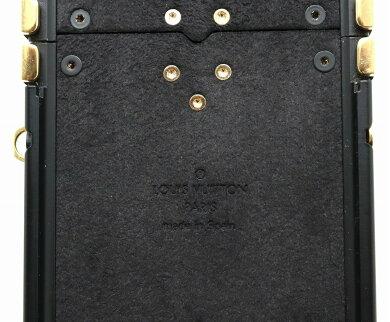 LOUISVUITTONルイヴィトンモノグラムアイトランクIPHONEXアイフォンXフォリオアップルスマホカバースマホケース携帯M62618【中古】
