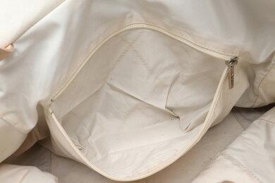 【バッグ】CHANELシャネルパリビアリッツトートMMトートバッグショルダーバッグ肩掛けコーティングキャンバスゴールドシルバー金具A34209【中古】