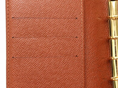 LOUISVUITTONルイヴィトンモノグラムアジェンダPM手帳カバー6穴式手帳カバーシステム手帳R20005【中古】