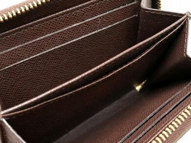 【財布】LOUISVUITTONルイヴィトンダミエジッピーコインパースラウンドファスナーコインケース小銭入れN63070【中古】
