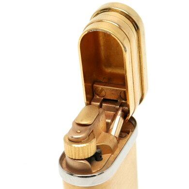 CartierカルティエガスライタースリーリングモチーフトリニティゴールドシルバーピンクゴールドCA120180【中古】