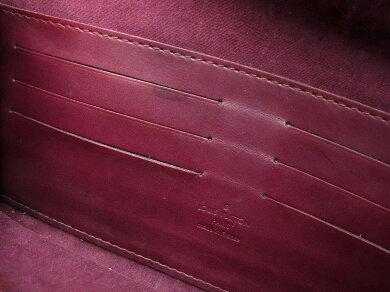 【バッグ】LOUISVUITTONルイヴィトンモノグラムヴェルニサンセットブルーバードクラッチバッグアクセサリーポーチセミショルダーヴィオレM93571【中古】