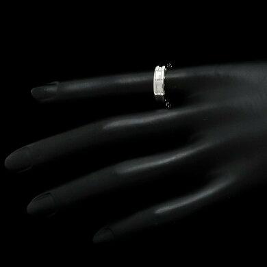 【ジュエリー】【新品仕上げ済】BVLGARIブルガリB.zero1B-zero1Bzero1ビーゼロワン1バンドリング指輪11号#51K18WGホワイトゴールドXSサイズAN852423【中古】