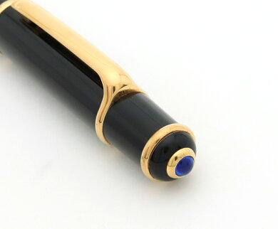 Cartierカルティエディアボロドゥカルティエコンポジットローラーボールペンブラック黒ゴールドインクブラックST180003【中古】