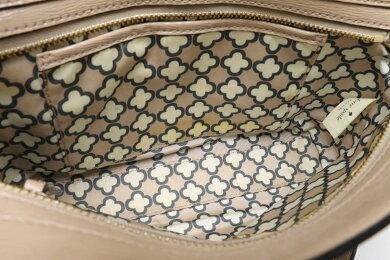【バッグ】katespadeケイトスペードショルダーバッグショルダーバッグパテントレザーベージュゴールド金具PXRU4590【中古】