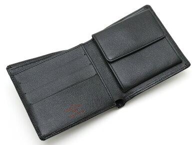 【財布】LOUISVUITTONルイヴィトンエピポルトビエカルトクレディモネ2つ折財布レザーノワール黒ブラックM63542【中古】