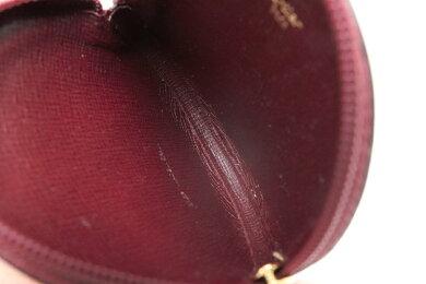 【未使用品】【財布】Cartierカルティエマストラインマストドゥカルティエラウンドファスナーコインケース小銭入れレザーカーフボルドーL3000159【中古】
