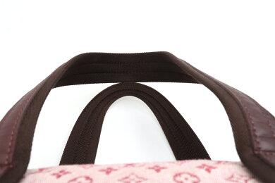 【バッグ】LOUISVUITTONルイヴィトンモノグラムミニジョセフィーヌGMハンドバッグトートバッグキャンバスレザーチェリーM92213【中古】