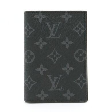 【新品未使用品】【財布】LOUISVUITTONルイヴィトンモノグラムエクリプスクーヴェルテュールパスポールNMパスポートカバーパスポートケースイニシャル入りM64501