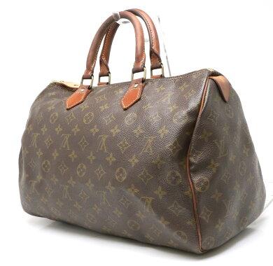 【バッグ】LOUISVUITTONルイヴィトンモノグラムスピーディ35ボストンバッグハンドバッグ旅行用カバントラベルバッグM41524【中古】
