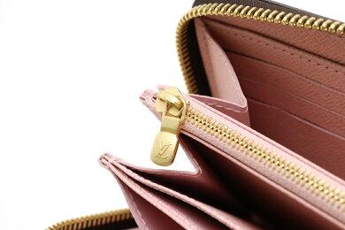 【新品未使用品】【財布】LOUISVUITTONルイヴィトンダミエジッピーウォレットラウンドファスナー長財布ローズバレリーヌピンクN60046