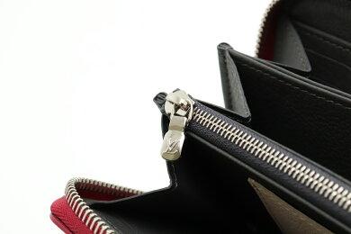 【未使用品】【財布】LOUISVUITTONルイヴィトンジッピーロックミー長財布ラウンドファスナーレザーリドゥヴァンワインレッドエタンクレームM63816【中古】