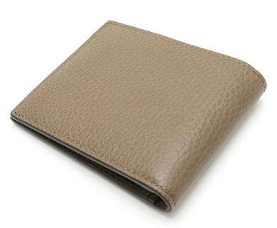 【未使用品】【財布】GUCCIグッチ2つ折り財布レザー二つ折り財布メープルブラウンアウトレット260987【中古】