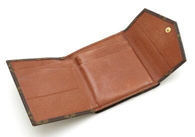 【財布】LOUISVUITTONルイヴィトンモノグラムダブルホック財布Wホック財布M61660【中古】