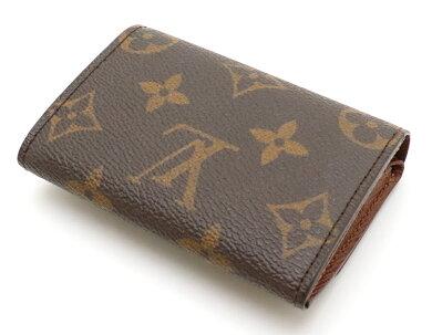 【財布】LOUISVUITTONルイヴィトンモノグラムポルトモネプラコインケース小銭入れM61930【中古】