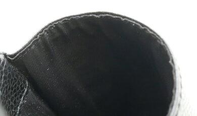 CHANELシャネルキャビアスキンココマークiQOSケースアイコスケースシガレットケースタバコケースレザーブラック黒A13511【中古】