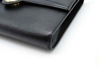 【バッグ】LOUISVUITTONルイヴィトンエピアルシュショルダーバッグポシェットクラッチバッグ2WAY斜め掛けノワール黒ブラックM52572【中古】