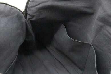 【バッグ】HERMESエルメスボリードポーチ34小物入れコスメポーチ化粧ポーチマルチポーチトラベルポーチキャンバスレザーブラック黒【中古】
