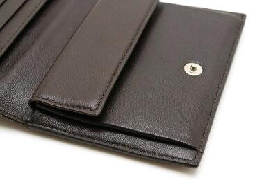 【財布】PRADAプラダ3つ折り財布コンパクト財布レディースパイソンレザーパープル紫【中古】