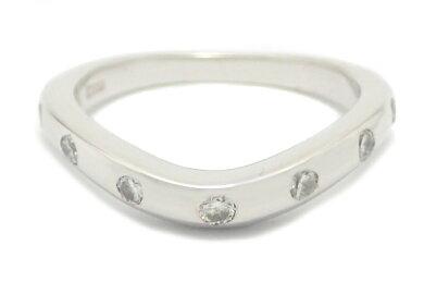 【中古】【ジュエリー】【新品仕上げ済み】BVLGARIブルガリコロナリング7Pダイヤ指輪Pt950プラチナ#8AN196608【k】【Blumin楽天市場店】