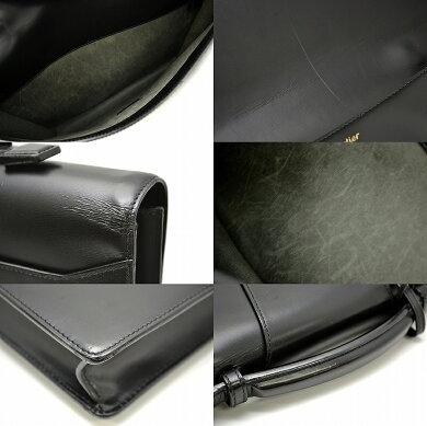 【中古】【バッグ】Cartierカルティエトラディションブリーフケースビジネスバッグ書類カバンカーフレザー黒ブラック【k】【Blumin楽天市場店】