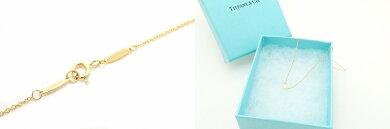 【中古】【ジュエリー】【新品仕上げ済】TIFFANY&Co.ティファニーバイザヤードネックレスK18K18YGゴールドイエローゴールドダイヤモンドD0.14ct【k】【Blumin楽天市場店】
