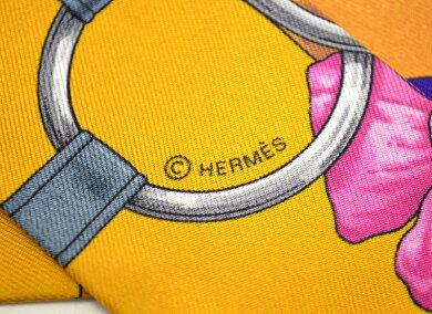 【未使用品】【アパレル】HERMESエルメストゥイリーツイリースカーフベルトフラワー柄バッグスカーフバッグアクセサリーシルク100%マルチカラー【中古】【k】【Blumin楽天市場店】
