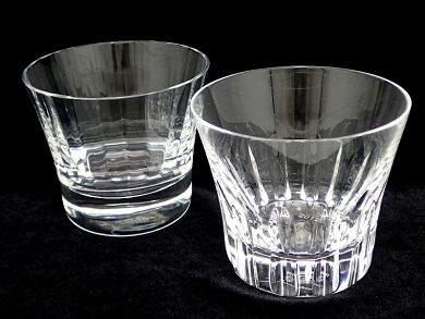 Baccaratバカラエトナペアグラスクリスタルロックグラスペアタンブラーガラス2個セット2011年製【中古】【k】【Blumin楽天市場店】