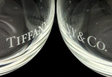 【未使用品】TIFFANY&Co.ティファニータンブラーペアタンブラーペアグラスクリスタルガラス製コップロゴ入りロックグラス【中古】【k】【Blumin楽天市場店】