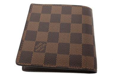 【財布】LOUISVUITTONルイヴィトンダミエポルトフォイユマルコ2つ折財布N61675【中古】【u】【Blumin楽天市場店】