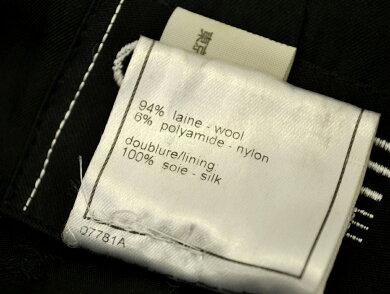 【アパレル】CHANELシャネルレディースジャケットロングジャケットウールツイード裏地シルクココマークボタン黒ブラック#38P11896V06876【中古】【k】【Blumin楽天市場店】