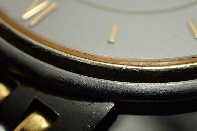 【ウォッチ】LONGINESロンジンシルバーグレー文字盤SSGPメンズQZクォーツ腕時計【中古】【k】【Blumin楽天市場店】