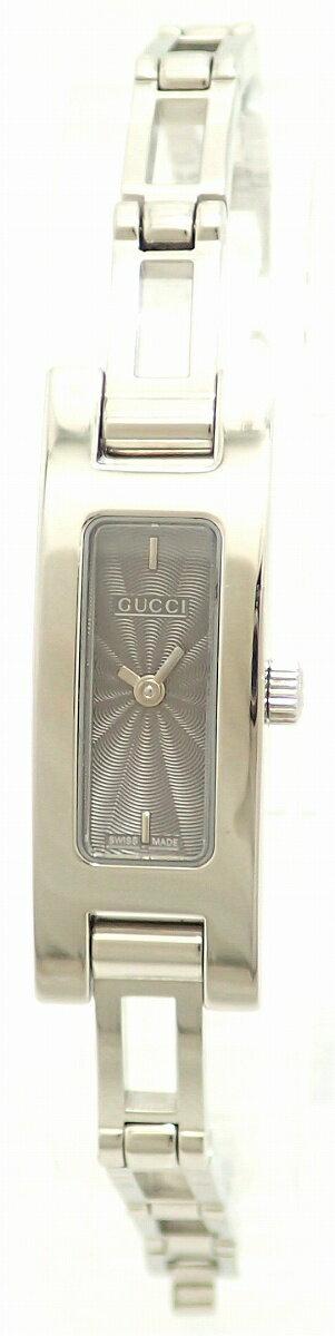 【ウォッチ】GUCCIグッチグレー文字盤SSレディースQZクォーツ腕時計3900L【中古】【k】【Blumin楽天市場店】
